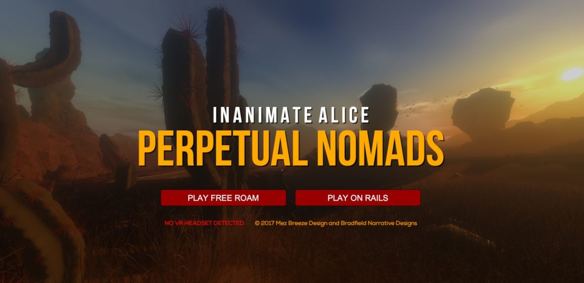 Inanimate Alice: Perpetual Nomads